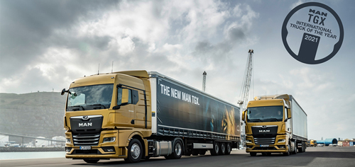 MAN TGX, Truck of the Year 2021!
